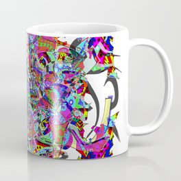 Neon Waffle Monster 12 Coffee Mug