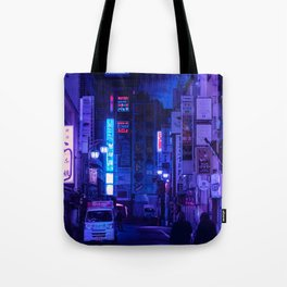 Tokyo Nights / Red Light District / Liam Wong Tote Bag