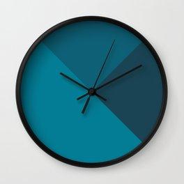 Mixed Colors Wall Clock