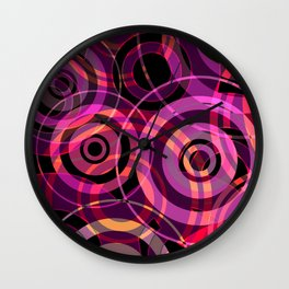 PATTERN-5 [atmospheric circle design] Wall Clock