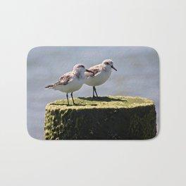 2 birds 1 pole Bath Mat