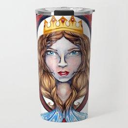 Nautical Diamond Queen Travel Mug