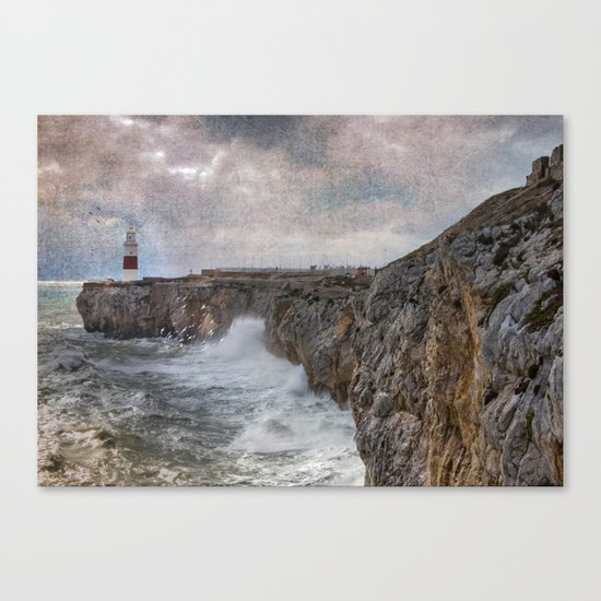 Europa Point, Gibraltar Canvas Print