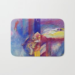 Eye of the Storm by Nadia J Art Bath Mat