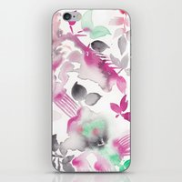 grateful dead iPhone & iPod Skins featuring Grateful by The East Auklet