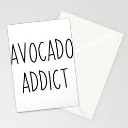 Avocado Addict | Addictive gift idea vegetables Stationery Cards