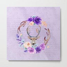 Lavender Love Letter Metal Print