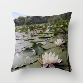 Lilypond II Throw Pillow