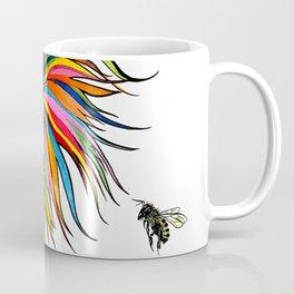 RobiniArt Chicken and Bee Coffee Mug