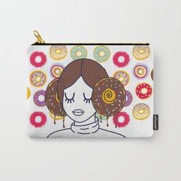 Princess Donut Leia Carry-All Pouch