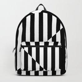 OPTIC ILLUSION (BLACK-WHITE) Backpack