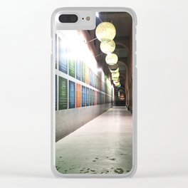 Contemplation in the Mosque Gallery Clear iPhone Case