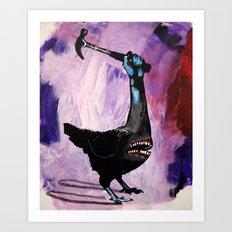 Senseless violence. 2008. Art Print