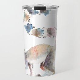 Splotchy Lemur Travel Mug