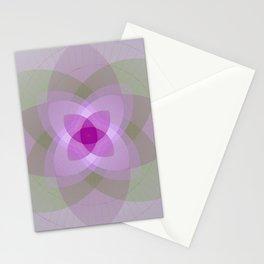 Lotus flower light Stationery Cards