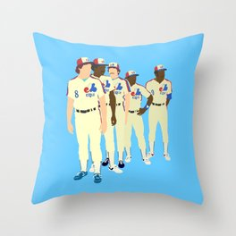 Vintage Montreal Expos Print Throw Pillow