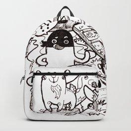 Kawaii Doodle - Goat Love Backpack