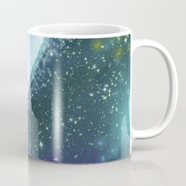 Mystical blue planet Coffee Mug