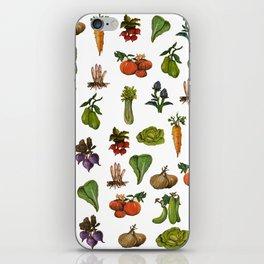 Vegetables Pattern iPhone Skin
