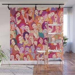 Yo girlfriend – U R my BFF!! Wall Mural