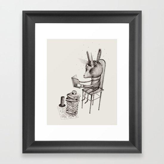 'Dreams Of Leaving - Part 1' Framed Art Print