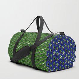 Little plumbler green jump Duffle Bag