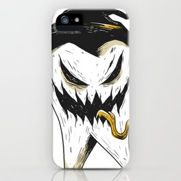 Scary Tooth iPhone Case