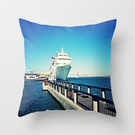 Get Away Throw Pillow