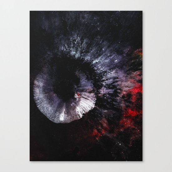 The Eye of the Moon Canvas Print