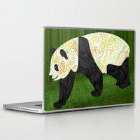 panda Laptop & iPad Skins featuring Panda by Ben Geiger