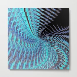 Smoothed.Inverted.GoldenAngelElement2.Recursion Metal Print