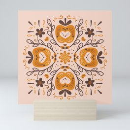 Golden Apple Love Mini Art Print