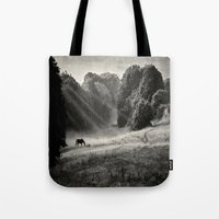 serenity Tote Bags featuring Serenity by Mark Bagshaw Photography