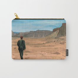 Paris Texas Illustration by Burro Carry-All Pouch