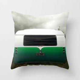 Starliner Caravan Camper Throw Pillow