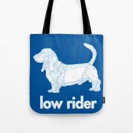 Basset Low Rider Tote Bag