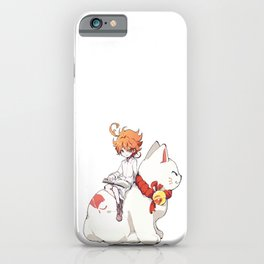 Emma The Promised Neverland iPhone Case