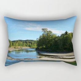 Quillayute River Rectangular Pillow