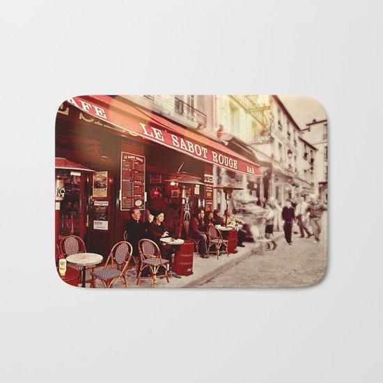 Coffehouse, Sidewalk Cafe Bath Mat