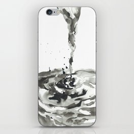 Waterspout and Whirlpool iPhone Skin