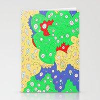 jenny liz rome Stationery Cards featuring Liz by Amanda Trader