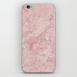Blush Pink Marble iPhone Skin