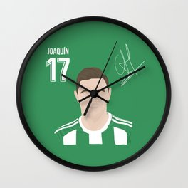 Joaquin - Real Betis Wall Clock