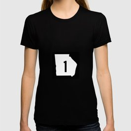 Georgia State Route 1 Shield T-shirt