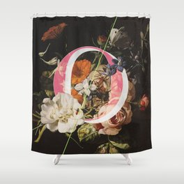 Letter O Shower Curtain