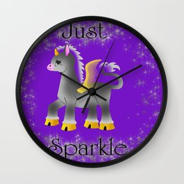 Just Sparkle Wall Clock