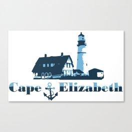 Cape Elizabeth. Canvas Print