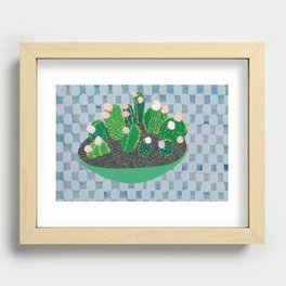 Don't be so hard on me, please! Recessed Framed Print