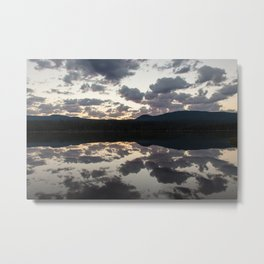 Lava Lake Sunrise Metal Print