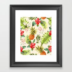 Discover Tropical Power Framed Art Print